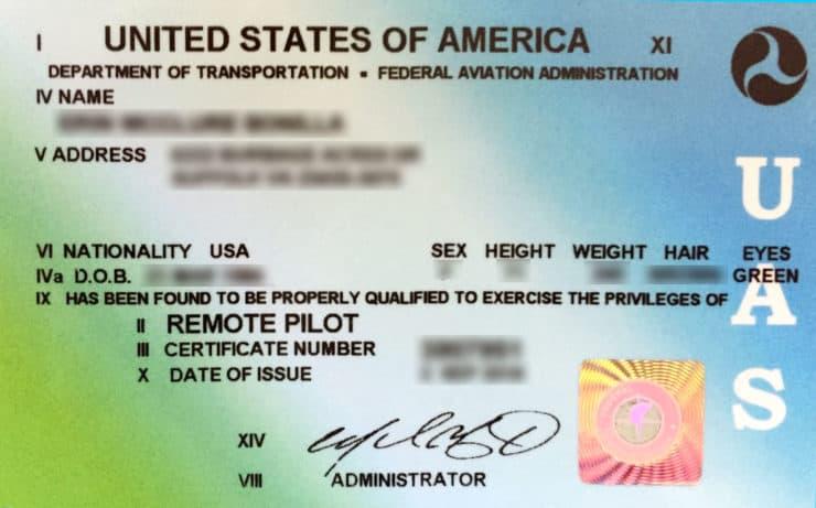 Part 107 License